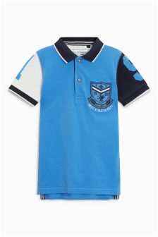 Badged Polo (3-16yrs)