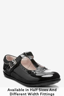 T-Bar Patent Shoes (Older Girls)