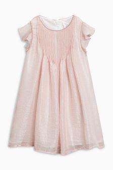 Pintuck Dress (3-14yrs)