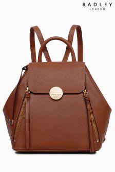 Radley Tan Esher Street Medium Flapover Backpack