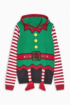 Christmas Elf Sweater (Womens)