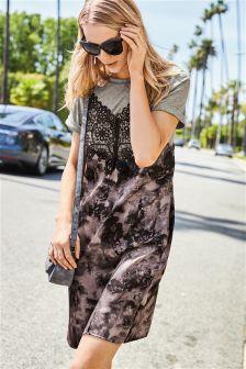 Satin Layer Dress