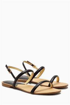 Barely There Flat Sandals