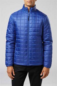 轻质方形绗缝夹克