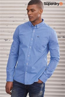 Superdry Blue London Button Down Shirt