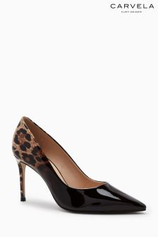 Carvela Pewter Alison Ombre Pointed Court Shoe