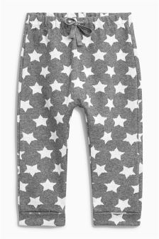 Star Print Joggers (3mths-6yrs)