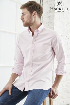 Hackett Pink Oxford Shirt