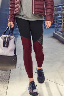 Colourblock Technical Full Length Leggings