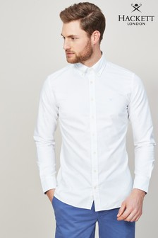 Hackett White Oxford Shirt