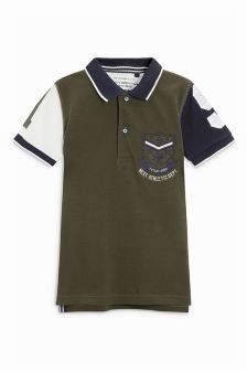 Badged Polo (3-16yrs)