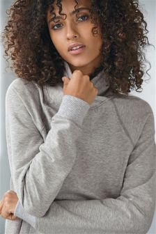 Cowl Neck Sweat