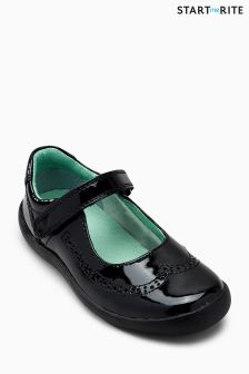 Czarne buty Start-Rite Patent Lizzy