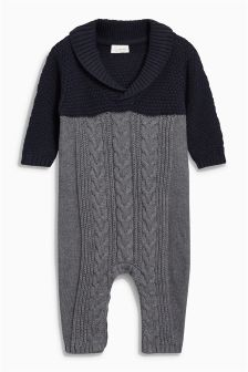 Knitted Romper (0mths-2yrs)