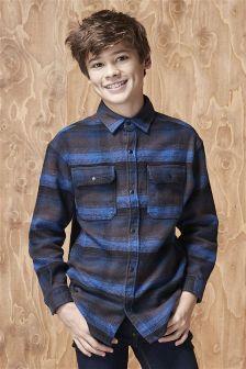 Long Sleeve Stripe Shirt (3-16yrs)