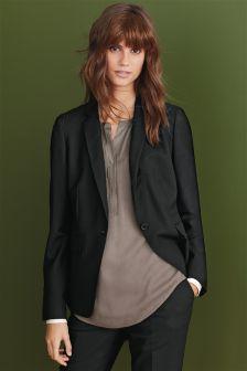 Signature Textured Suit Jacket
