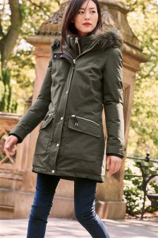 Women's coats and jackets Green | Next Australia