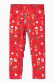 Christmas Leggings (3mths-6yrs)