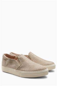 Shimmer Skater Shoes