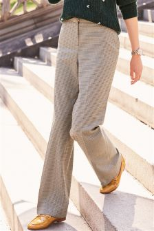 Dogtooth Slouch Trousers