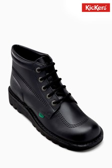 Kickers® Black Kick Hi Shoe