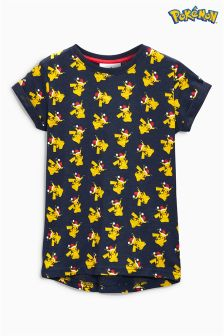 Christmas Pokémon™ T-Shirt (3-14yrs)