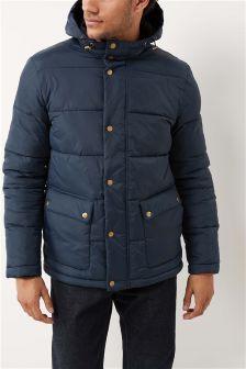 Wadded Hooded Jacket