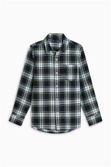 Рубашка в клетку с длинными рукавами для мальчиков (3-16 лет)