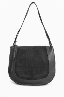 Leather Large Shoulder Bag