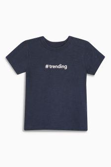 Trending Short Sleeve T-Shirt (3mths-6yrs)