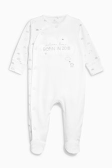 Born In 2018 Sleepsuit (0-9mths)