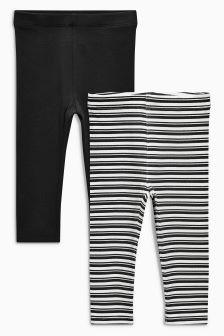 Stripe Leggings Two Pack (3mths-6yrs)