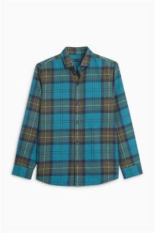 Long Sleeve Check Shirt (3-16yrs)