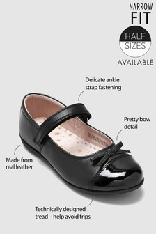 Patent Toe Cap Mary Jane Shoes (Older Girls)