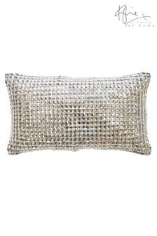 Квадратная подушка в ромбик Kylie