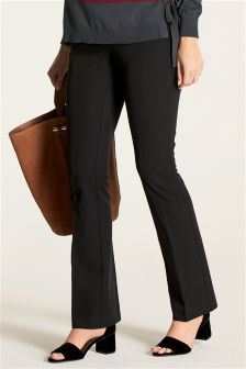 Maternity Boot Cut Over The Bump Trousers