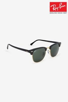 Czarne okulary przeciwsłoneczne Ray-Ban® Clubmaster