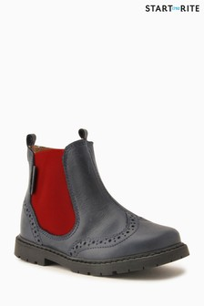 Start-Rite Brown Leather Digby Shoe