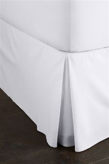 300 Thread Count Soft & Silky Egyptian Cotton White Valance Sheet