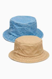 Fisherman's Hat Two Pack (Older Boys)