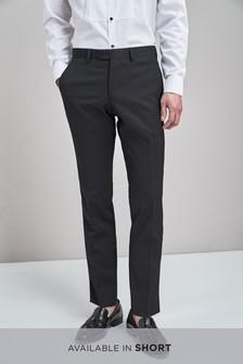 Коллекционный смокинг зауженного кроя: брюки