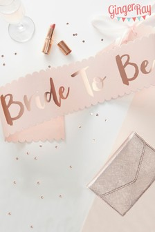 The bride To Be Hen Party Sash