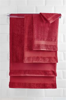 Egyptian Cotton Pile Towels