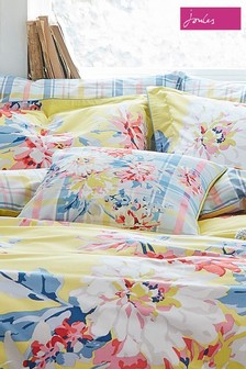 Joules Floral Whitstable Pillowcase
