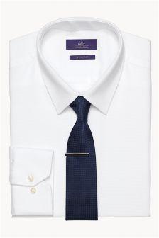 Komplet: Koszula, krawat i spinka