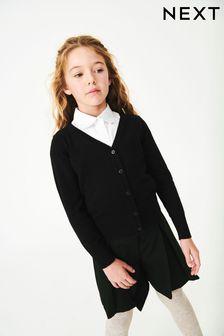 Кардиган с треугольным вырезом (3-16 лет)