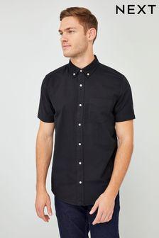 Koszula Oxford z krótkim rękawem