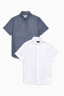 Shirts Two Pack (3-16yrs)