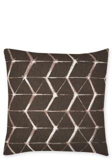 Outdoor Geometric Print Cushion