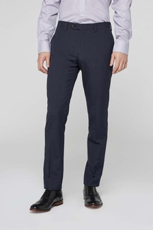Меланжевый костюм: брюки